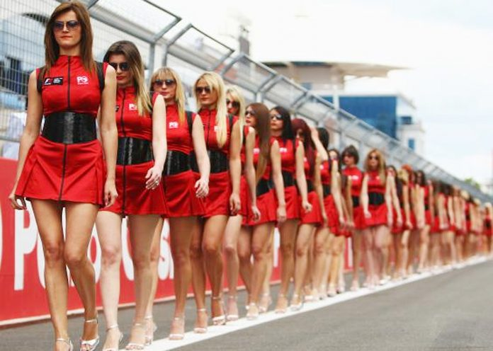 Grid girls banned from f1