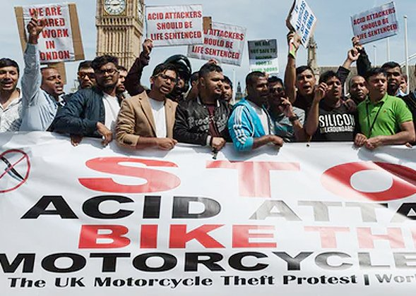 MP demands Theresa May to stop motorcycle crime.
