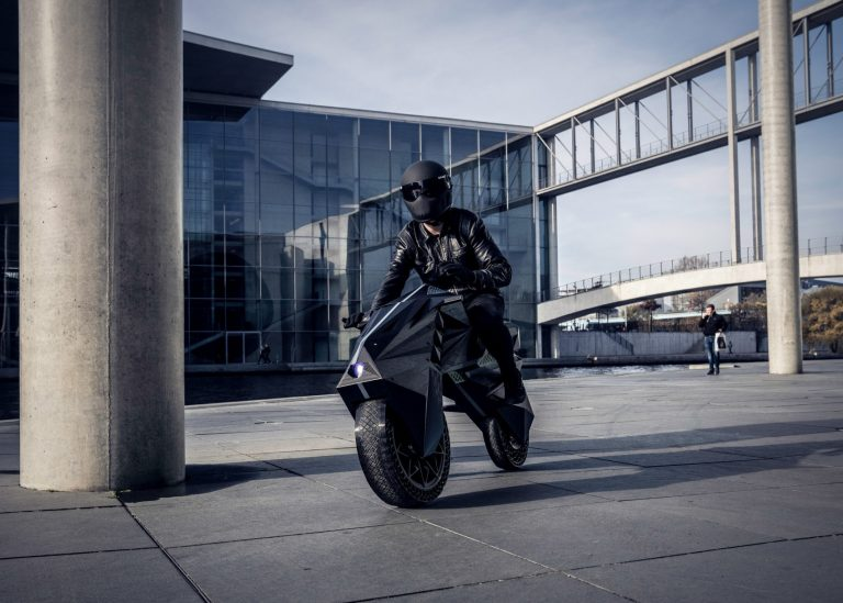 World's First 3D Printed Motorcycle