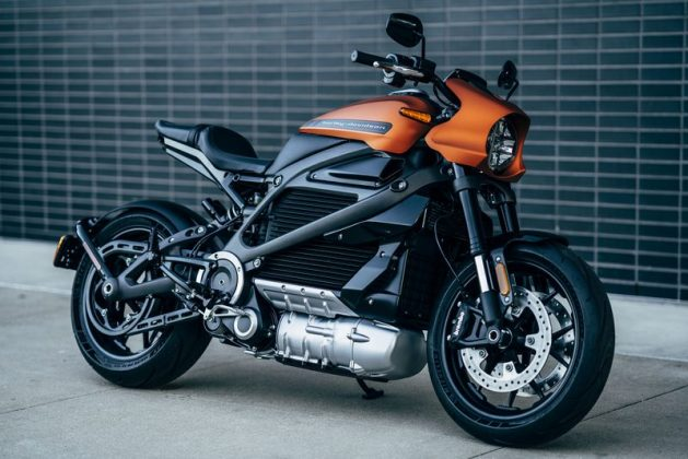 Harley Davidson New LiveWire Motorcycle
