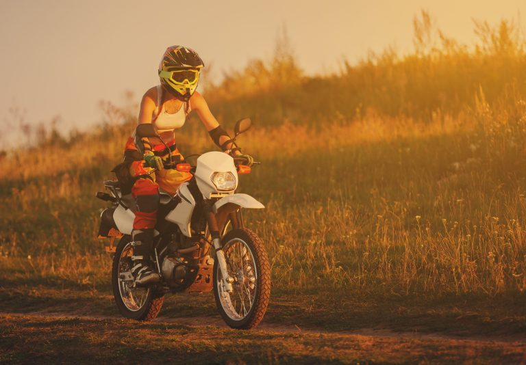 Riding a motorcycle has the same effect as exercise and meditation combined